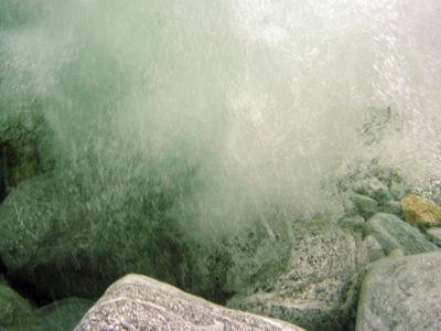 Unterwasserfall